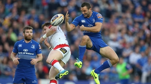 Dave Kearney in action against Ulster before damaging his cruciate