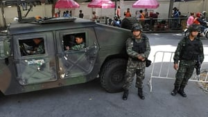 Thailand's army imposed martial law yesterday