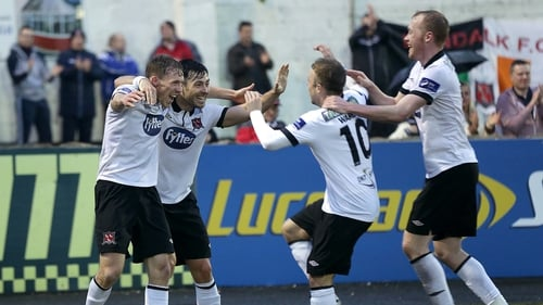 Dundalk had a memorable night at Oriel Park