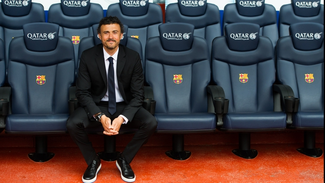 Luis Enrique has pledged to build a 'new era' at the Camp Nou