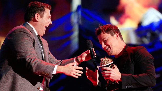Jonah Hill and Channing Tatum for Late Late Show appearance