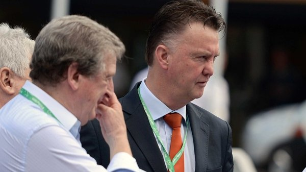 Roy Hodgson on Louis van Gaal: 'He has been asked to take on a big job and my congratulations to him for that'