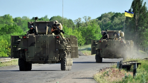 Clashes near Donetsk will increase tensions ahead of Sunday's elections