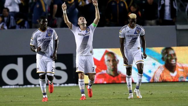 Keane now has six goals in nine games in the MLS
