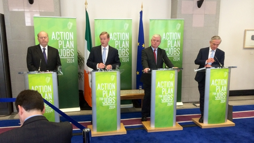 Government publishes its 9th Action Plan for Jobs' quarterly progress report