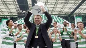 Celtic easily won this year's Scottish Premiership