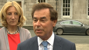 Alan Shatter said he was surprised to find out after resigning that he was eligible for the payment