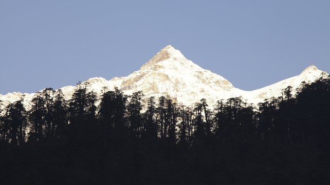 The group successfully summited Mount Kanchenjunga last Sunday
