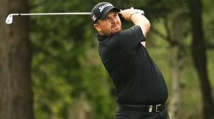Shane Lowry was eight-under for his first round at the BMW PGA Championship