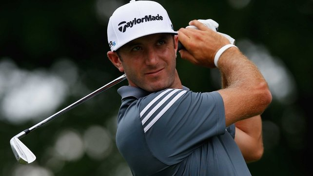 Dustin Johnson had a bogey-free round of 65