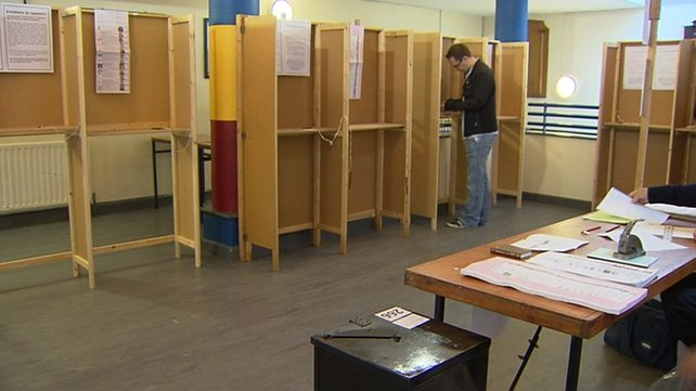 Voters were asked not to take selfies of their polling cards