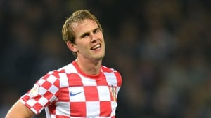 Ivan Strinic was first-choice left-back in Euro 2012