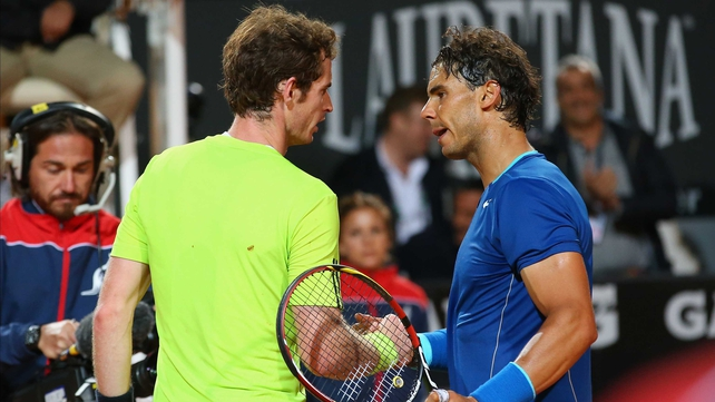 Andy Murray and Rafael Nadal could meet in the semi-final