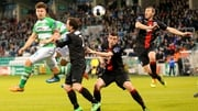 Bohemians and Shamrock Rovers meet at Dalymount Park at 7.45pm