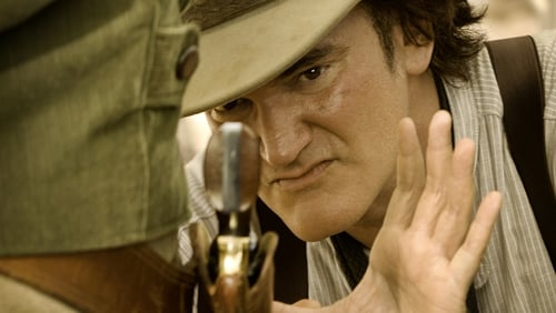 "Tarantino (pictured on Django Unchained set) - ""My idea, frankly, is to cut together a four-hour version of Django Unchained"""