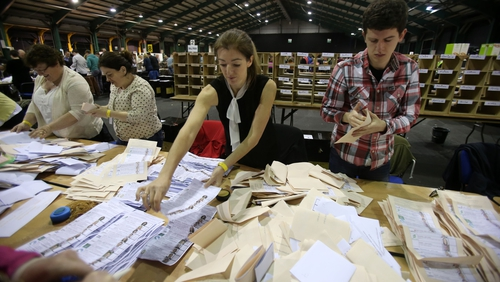 Counting is under way in local elections