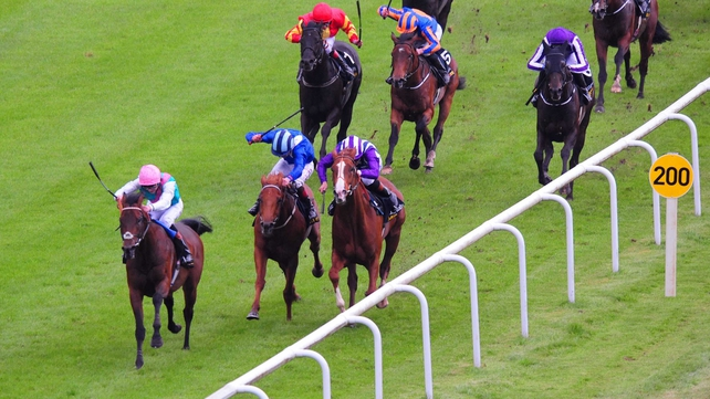 Kingman relished the soft underfoot conditions at the Curragh