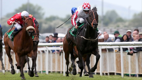 Slade Power was a comfortable winner of the Greenlands Stakes on his seasonal reappearance