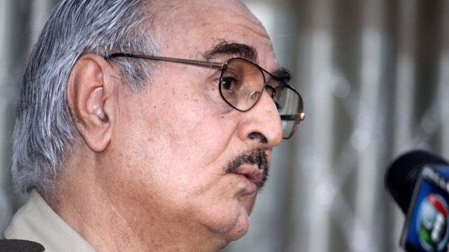 Western governments worry Gen Haftar's call for army units to join his campaign will split the military