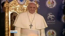 Pope Francis appeals for peace in Syria