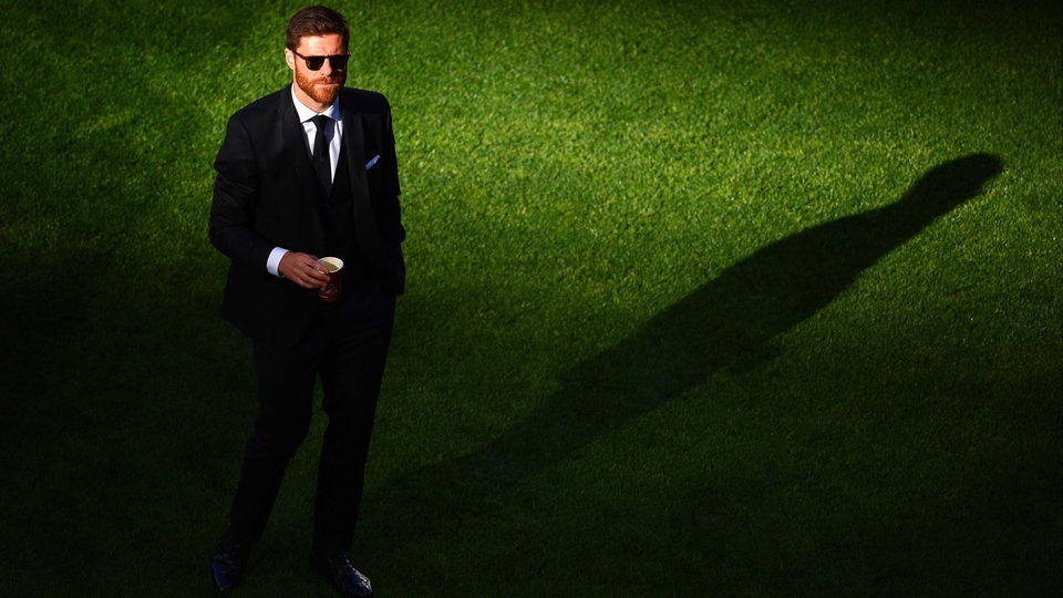 Dapper but disappointed - Real Madrid's Xabi Alonso missed the final through suspension