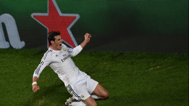 Gareth Bale put Real Madrid in front as they went on to win 4-1