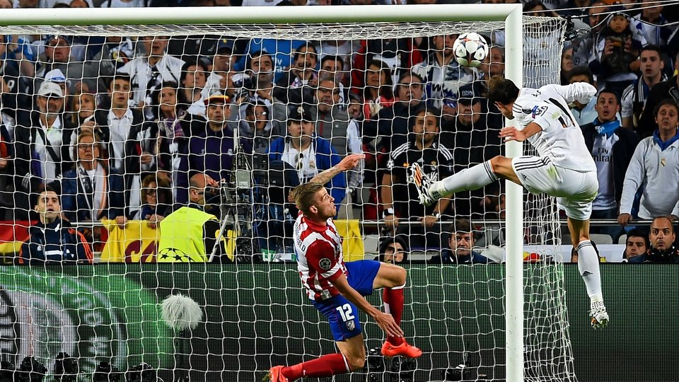 Real Madrid's Gareth Bale scores first in extra-time