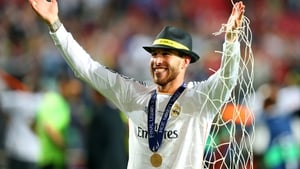 Hipsterific! - Real Madrid's Sergio Ramos complements his trilby with some netting