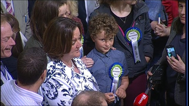 The by-election was called after Ms McFadden's sister passed away