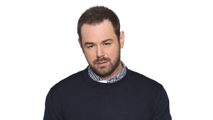 Danny Dyer is fitted for wetsuit for Eastenders stunt