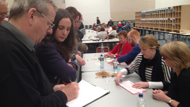Counting under way in Wexford