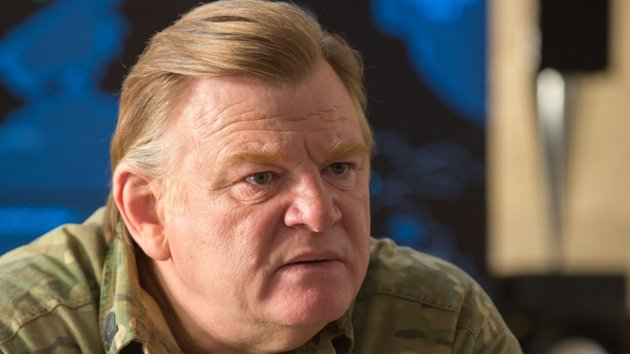 Gleeson is brilliant as the formidable General Brigham