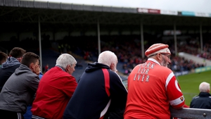 Die-hard Cork fans look on as the sides play out a draw