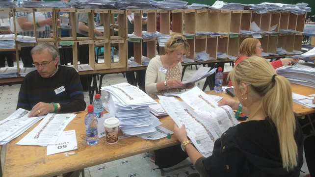 Counting in the local and European elections is ongoing across the country