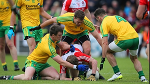 Donegal won by a goal to qualify for the Ulster semi-final
