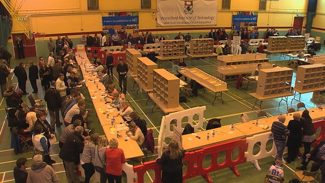 Counting in Waterford IT
