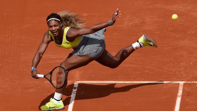 Defending champion Serena Williams meets Garbine Muguruza in the second round