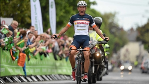 Stage 8: Davide Ballerini takes the final stage of the An Post Rás in impressive fashion
