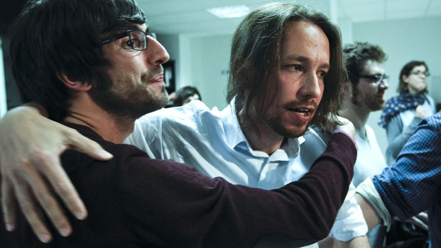 Podemos, born out of Spain's 'Indignant' movement captured five seats. Pic: EPA