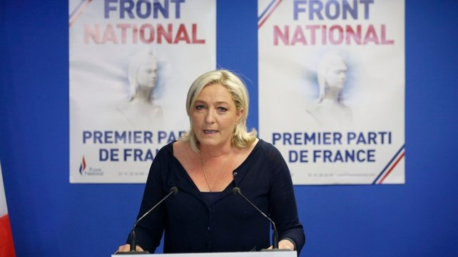 Marine Le Pen's National Front made huge gains in France