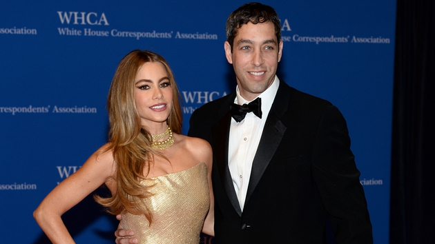 Vergara and Loeb pictured together on May 3 at the 100th Annual White House Correspondents' Association Dinner