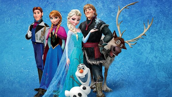 Animated film Frozen is officially the fifth-highest grossing film in the world.