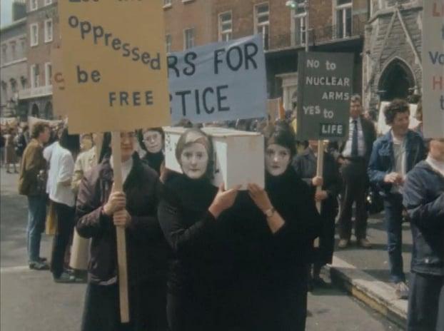 Reagan Protesters 1984