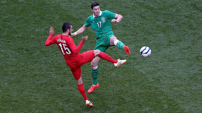 Turkey got the better of Ireland at the Aviva Stadium