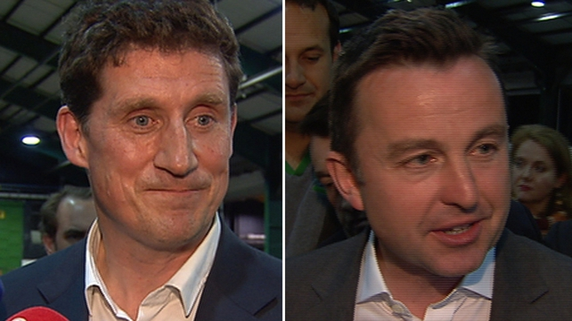 Eamon Ryan requested a recount in Dublin, he was 1,149 votes behind Brian Hayes after the seventh count