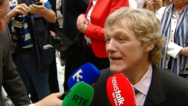 Brian Crowley was the only Fianna Fáil member to retain his seat in May's European Elections