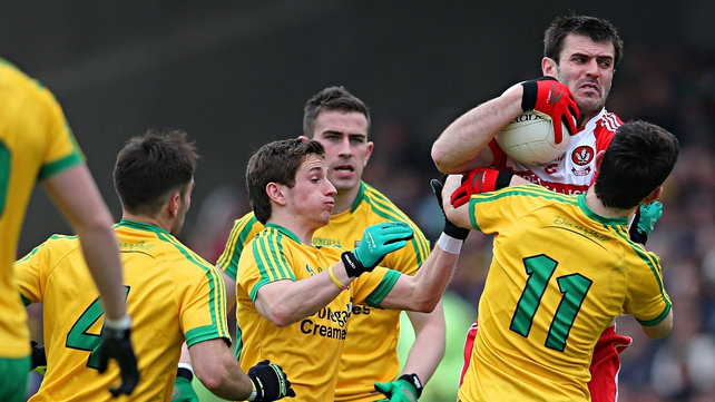 Donegal battled back to earn a deserved victory on Foyleside