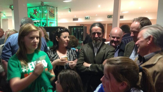 Luke Flanagan topped the poll but failed to reach the quota