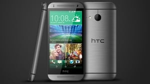 The HTC One mini 2 looks a lot like its bigger brother