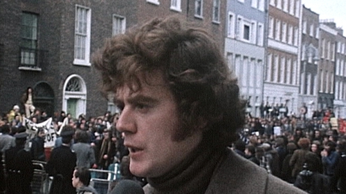Eamon Gilmore's involvement in politics began as a student in NUIG in the 1970s
